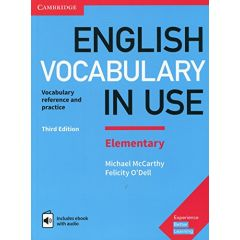 Cambridge University Press - English Vocabulary In Use - Elementary Third Edition, Book With Answers And Enhanced Ebook | 9781316631522