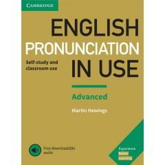 Cambridge University Press - English Pronunciation In Use Advanced Book With Answers And Downloadable Audio | 9781108403498