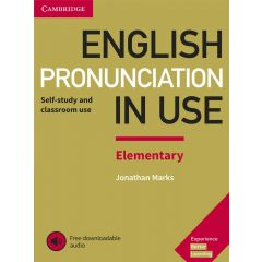 Cambridge University Press - English Pronunciation In Use Elementary Book With Answers And Downloadable Audio | 9781108403528