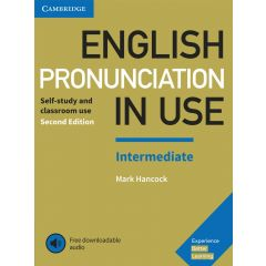 Cambridge University Press - English Pronunciation In Use Intermediate Book With Answers And Downloadable Audio | 9781108403696